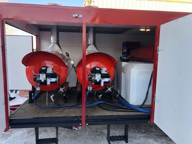 Totem 40 hi volume jetter trailer